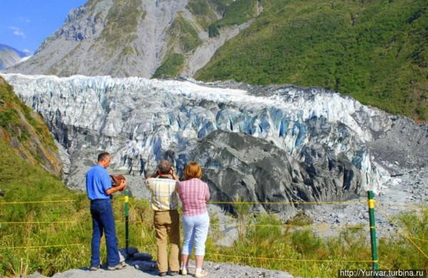 Новая Зеландия. Ледник Фокс