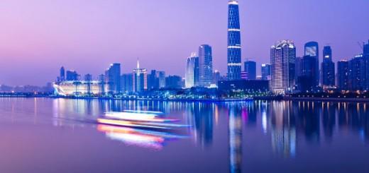 Гуанджоу вечером.