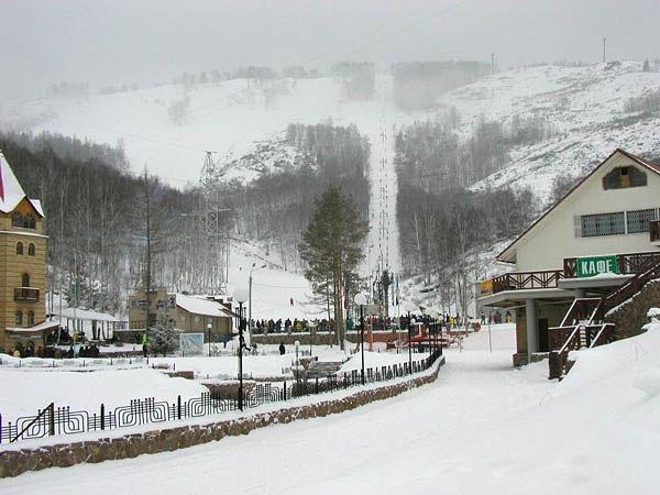 Абзаково - горнолыжный курорт на Урале