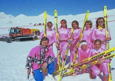 Эльбрус. Сборная по горным лыжам