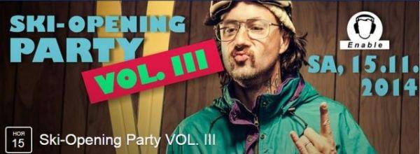 Открытие горнолыжного сезона. Ski-Opening Party VOL_ III