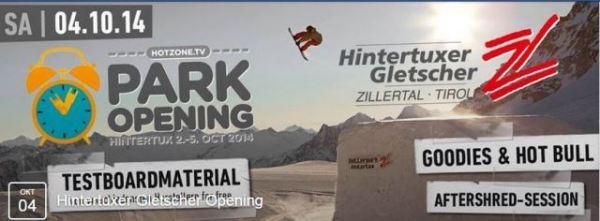 Открытие горнолыжного сезона Hintertuxer Gletscher Opening