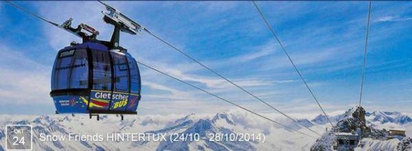 Открытие горнолыжного сезона .Snow Friends HINTERTUX (24_10 - 28_10_2014)