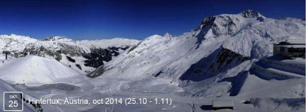 Открытие горнолыжного сезона .Hintertux, Austria, oct 2014 (25_10 - 1_11)