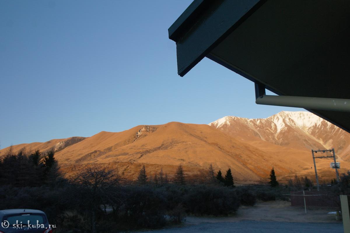 Коричневая гамма - зимняя одежда Новой Зеландии