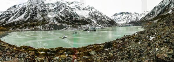 Ледниковое озеро Хукер