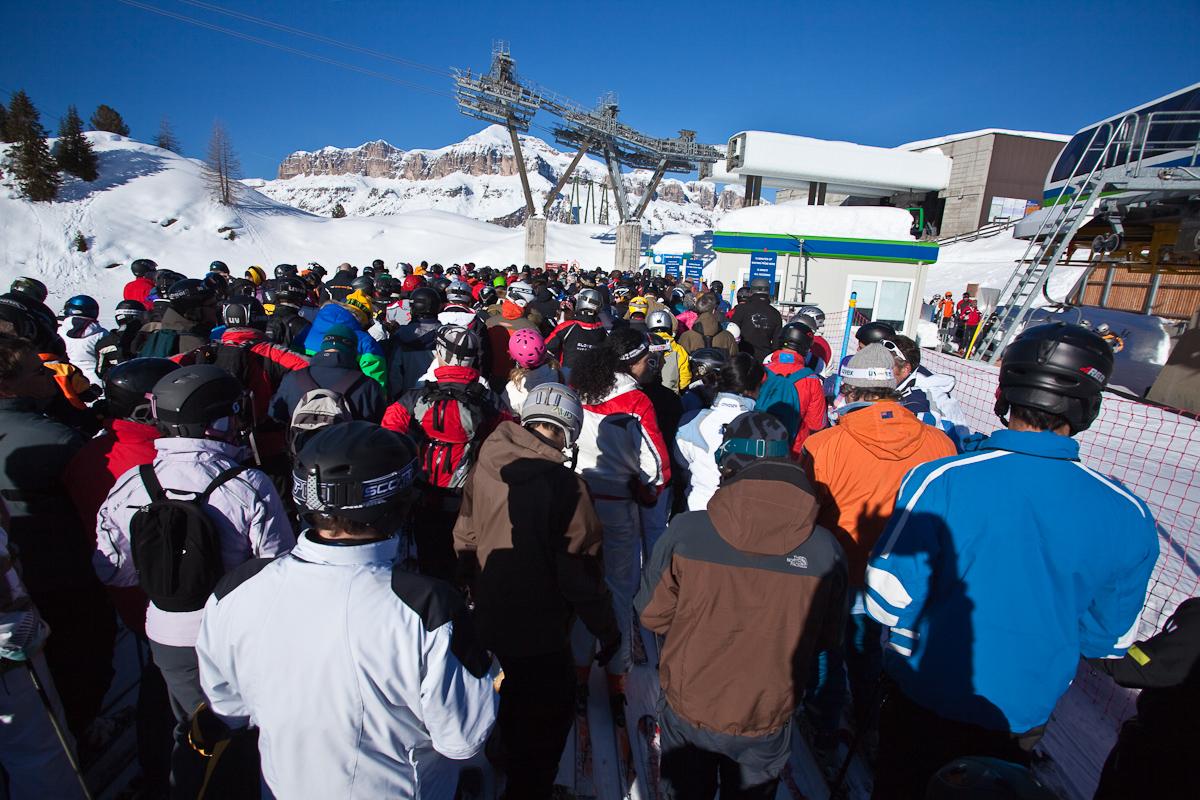 Доломитовые Альпы ski kuba