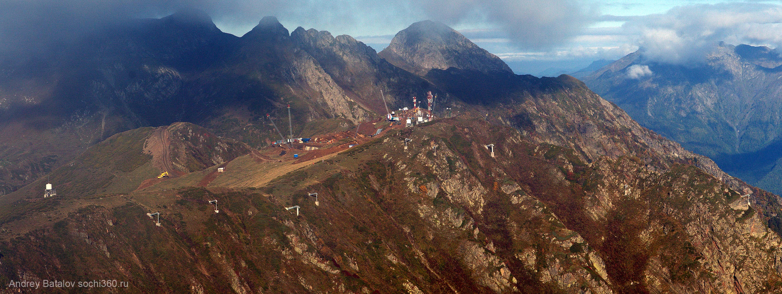 Верхняя станция ГЛК Альпика Сервис