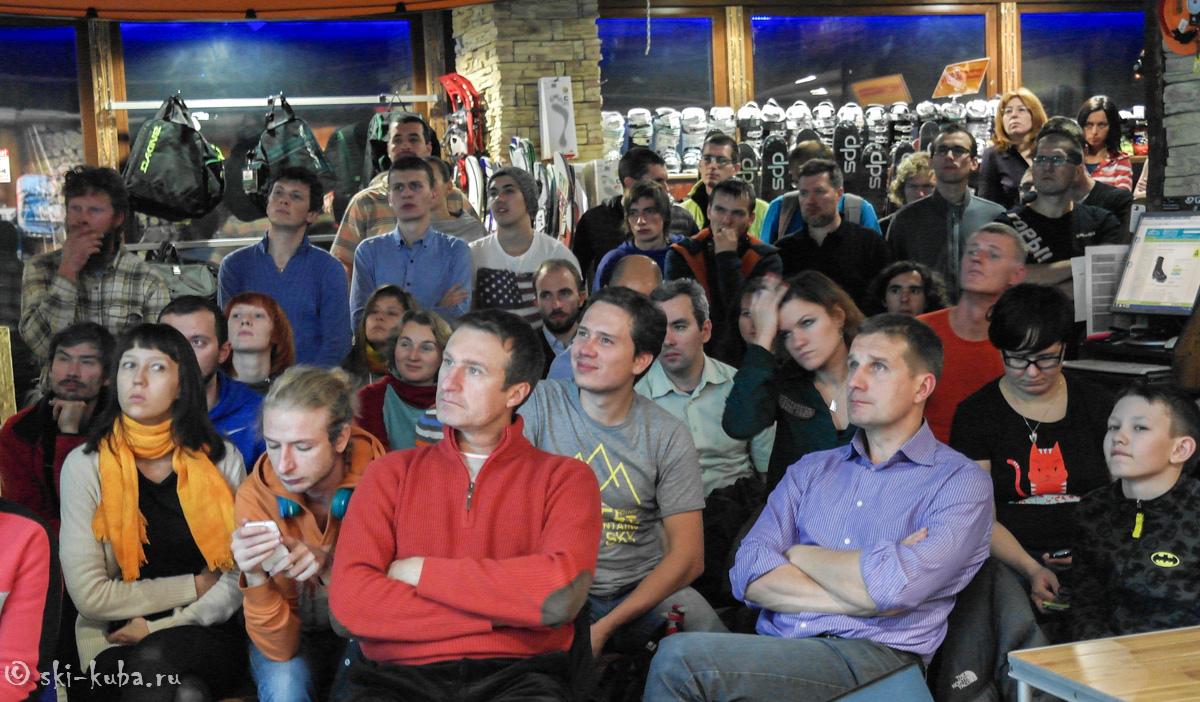 Игорь Комаров лекция по лавинной безопасности