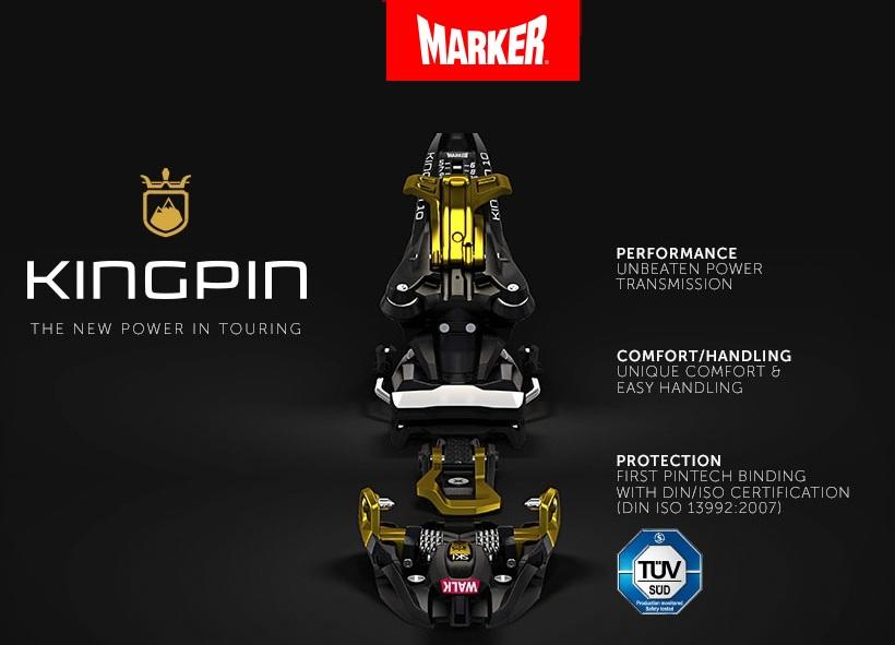 Marker KINGPIN новая эра скитуринга революционные скитурные крепления представил Marker На фоне многочисленных преимуществ отдельные недостатки несущественны