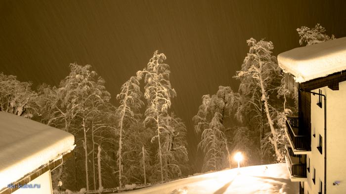 Красная Поляна снегопад