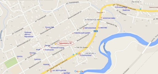 Карта апартаменты Турчинского 50