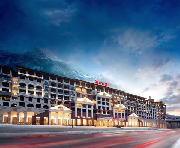 Отель Marriott Krasnaya Polyana