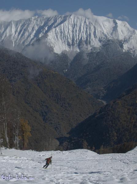 Открытие горнолыжного сезона в Красной Поляне
