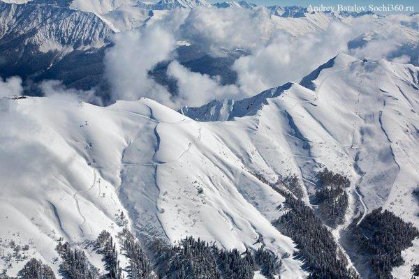 ГК Роза Хутор  подробности о Южном склоне - новом регионе катания