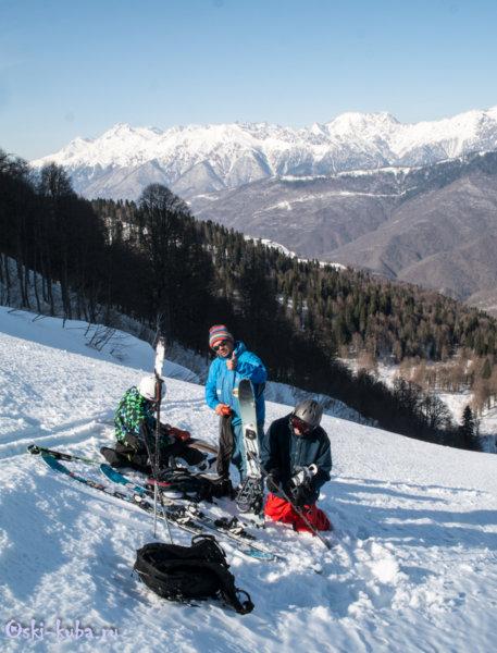 Ски-тур начальный уровень Красная Поляна