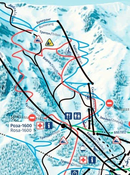 Роза Хутор открывает горнолыжный сезон 25 ноября