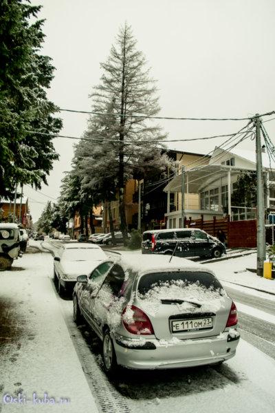 1.11.2017.Первый снег в Красной Поляне-0722-2