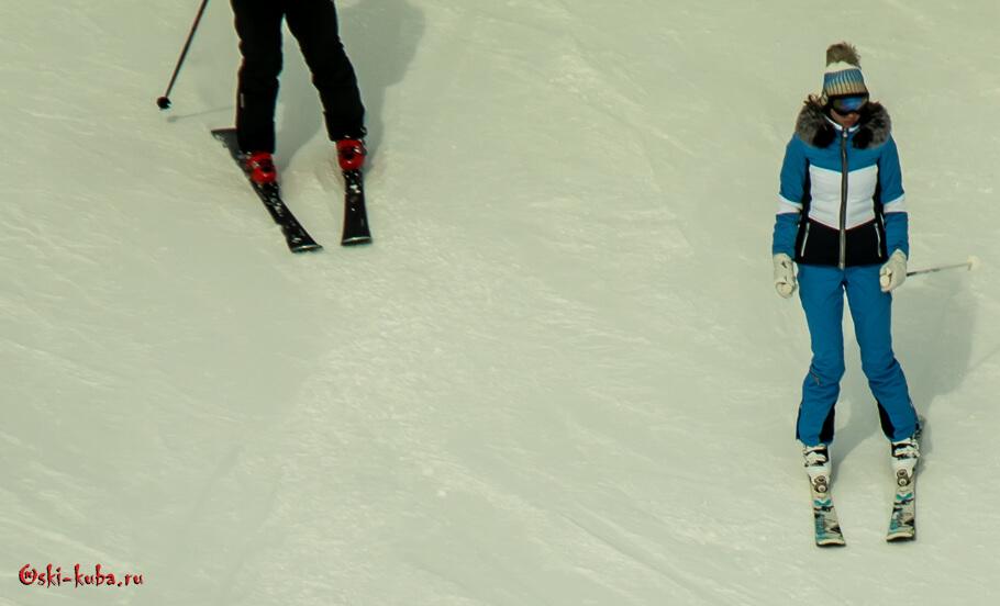 Повадки и манеры лыжебордеров в день открытия сезона